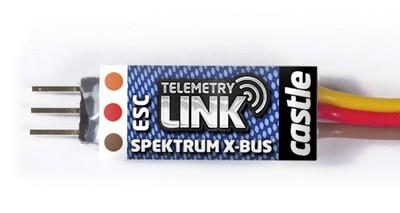 Castle Creations TELEMETRY Link SPEKTRUM X-Bus - World-of-Heli