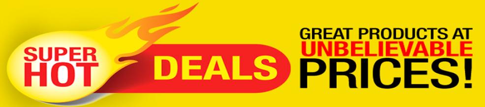 hot deals banner remove
