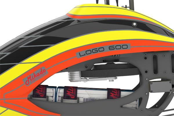mikado logo 600 world of heli. Black Bedroom Furniture Sets. Home Design Ideas