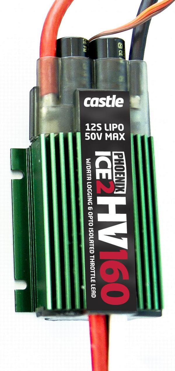 Castle Phoenix Ice 2 Hv 160 Bl Esc World Of Heli