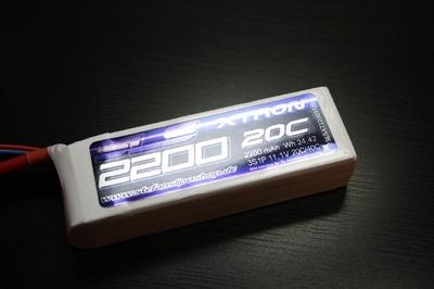 SLSXT22003120 SLS LIPO Akku XTRON 2200mAh 3S1P 11,1V 20C//40C