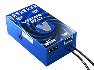 VStabi NEO Alu-Gehäuse, blau / VBar NEO Aluminum case, blue