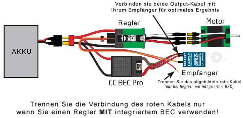 Castle Creations Bec Pro 20a 12s Voltage Regulator
