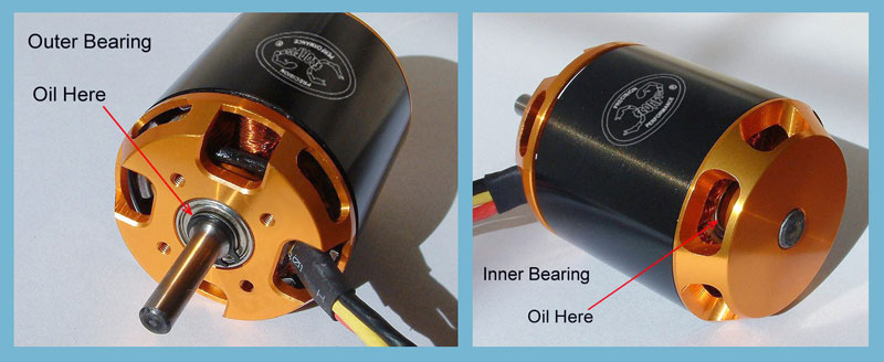 Scorpion motorlager l schmier set 30ml motor bearing for Electric motor bearing lubrication